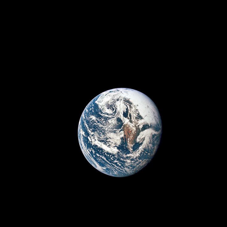 May 18 1969 - Apollo 10 View of the Earth A view of Earth from 36000 nautical miles away as photographed from the Apollo 10 spacecraft during its trans-lunar journey toward the moon. While the Yucatan Peninsula is obscured by clouds nearly all of Mexico north of the Isthmus of Tehuantepec can be clearly delineated. May 18 2017