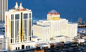 Groupon - Stay with Dining Credit and Daily Spa Admission at Resorts Casino Hotel in Atlantic City, NJ, with Dates into May in Atlantic City, NJ. Groupon deal price: $59