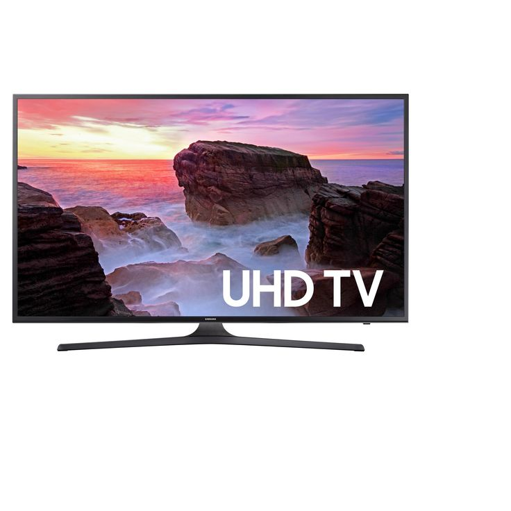 Samsung 50 Smart Uhd 4K 120 Motion Rate TV - UN50MU6300FXZA, Black