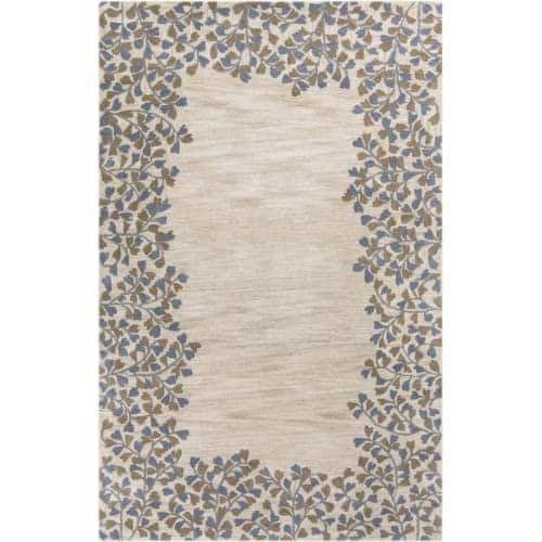 Surya ATH5117-912 Athena 9' x 12' Rectangle Wool Hand Tufted Traditional Area Ru - Tan