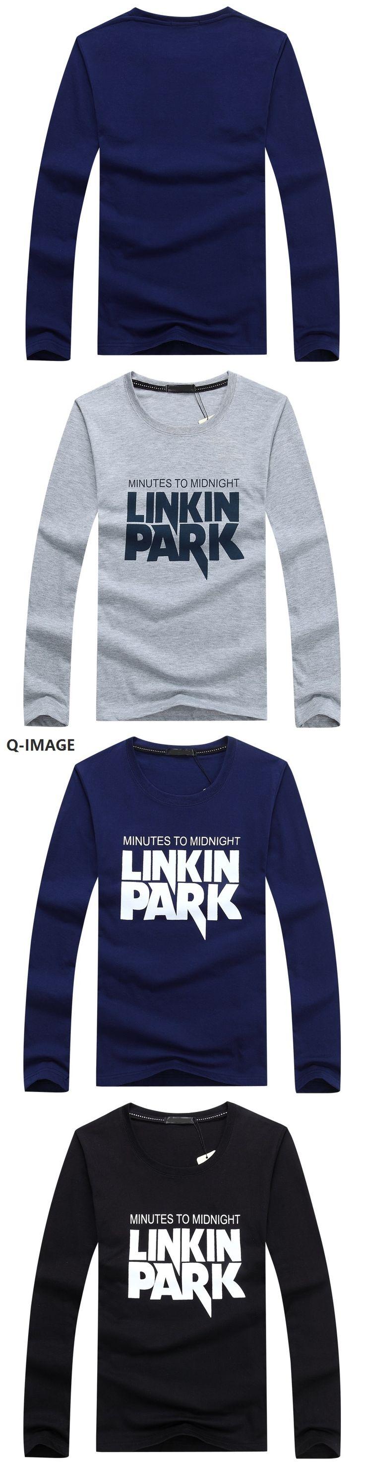 New spring autumn fashion letter printing o neck long sleeve men t-shirt  Plus size