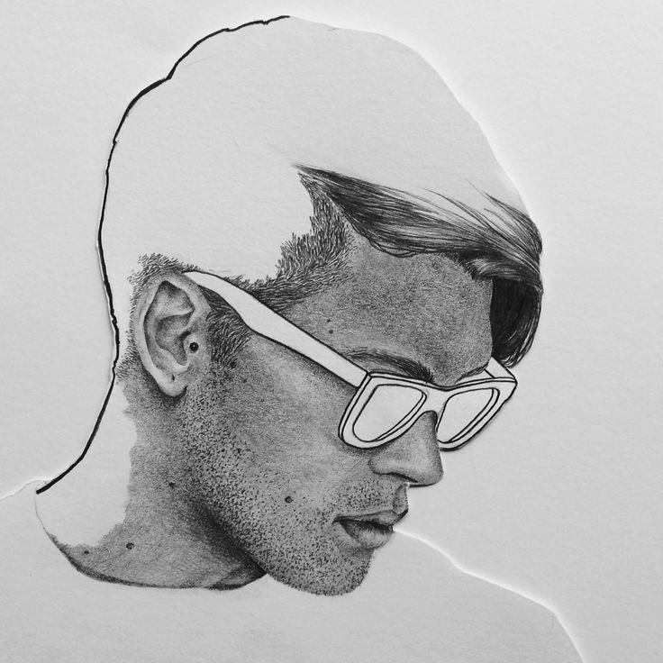 'Aaron' 2015 by Katie Munro