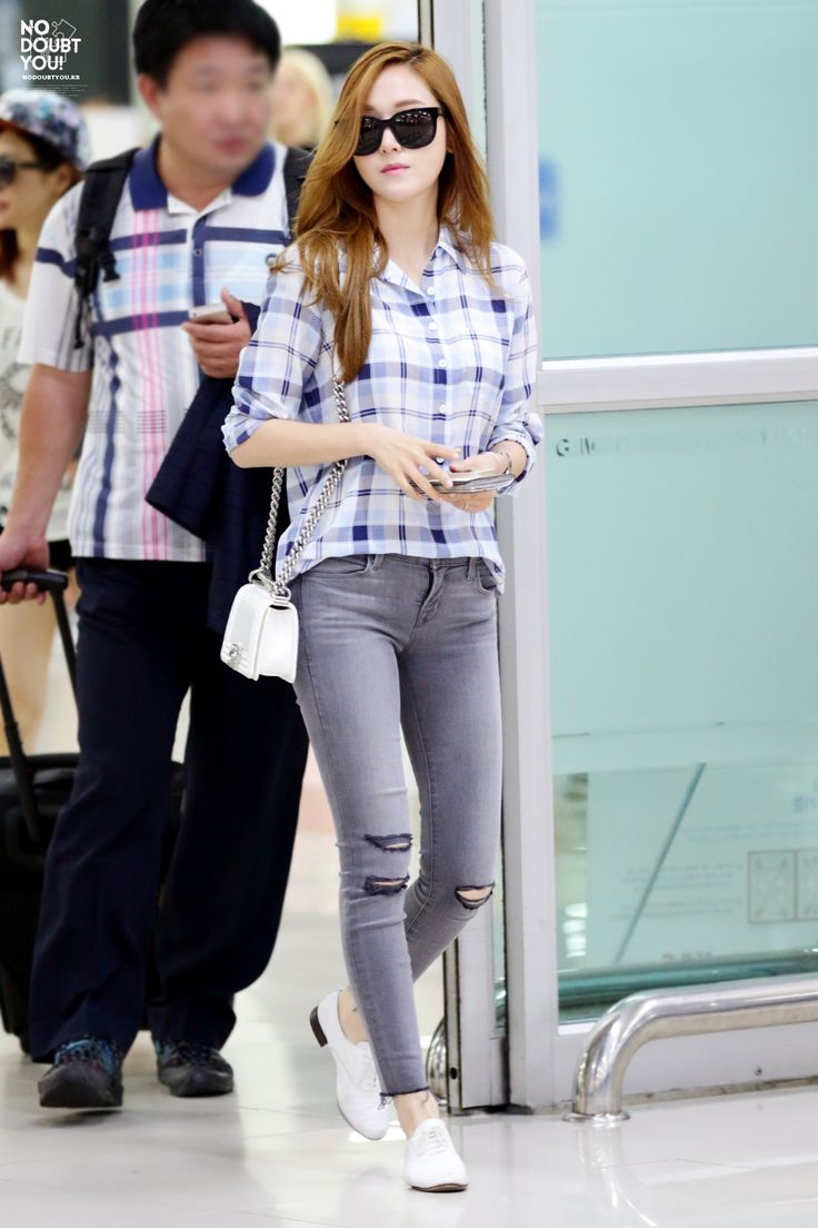 Pics For Snsd Jessica Airport Fashion