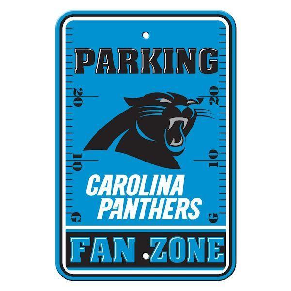Carolina Panthers Parking Only Sign - NFL Team Signs - Vintage Sign Shack