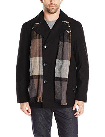 840f4d31e London Fog Men s Wool Blend Double Breasted Pea Coat Review