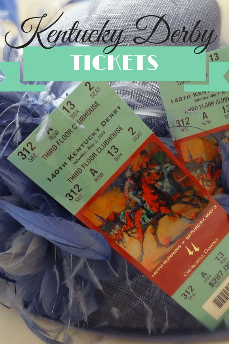 The Ultimate Ticket Buying Guide for the Kentucky Derby  #kentucky #derby #tickets