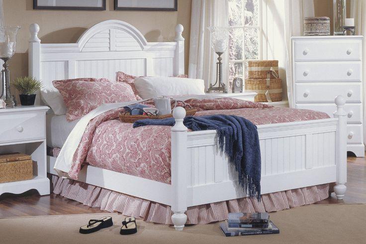 Carolina Furniture Works, Inc. Carolina Cottage Panel Bedroom Collection