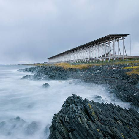 Architect Peter Zumthor designed this memorial on an island in Norway to commemorate suspected witches who were burned at the stake there in the seventeenth century (photographs by Andrew Meredith).