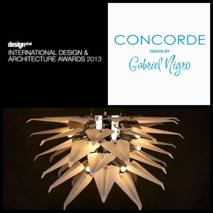 Concorde Model Isabella Design by Gabriel Nigro. Shortlisted at The International Design Awards 2013.