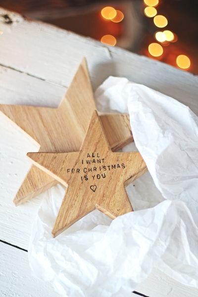 #niezchinzpasji ALL I WANT FOR CHRISTMAS IS YOU //SET w CZARY Z DREWNA na DaWanda.com #niezchinzpasji