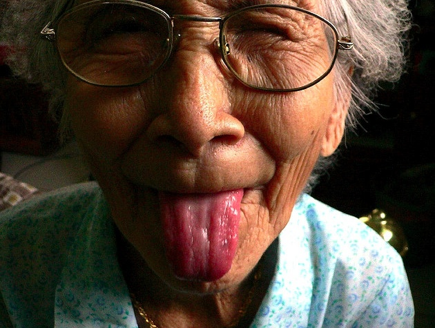 I never want to get too serious when I'm old. . . this photo by Liyin the Designer-in-Pajamas on flickr. #old #funny