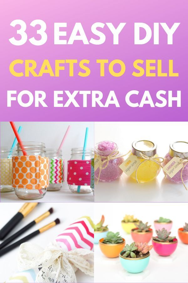 Hot Craft Ideas To Sell 30 Crafts To Make And Sell From Home Crafts To Make Easy Crafts To Make Things To Sell