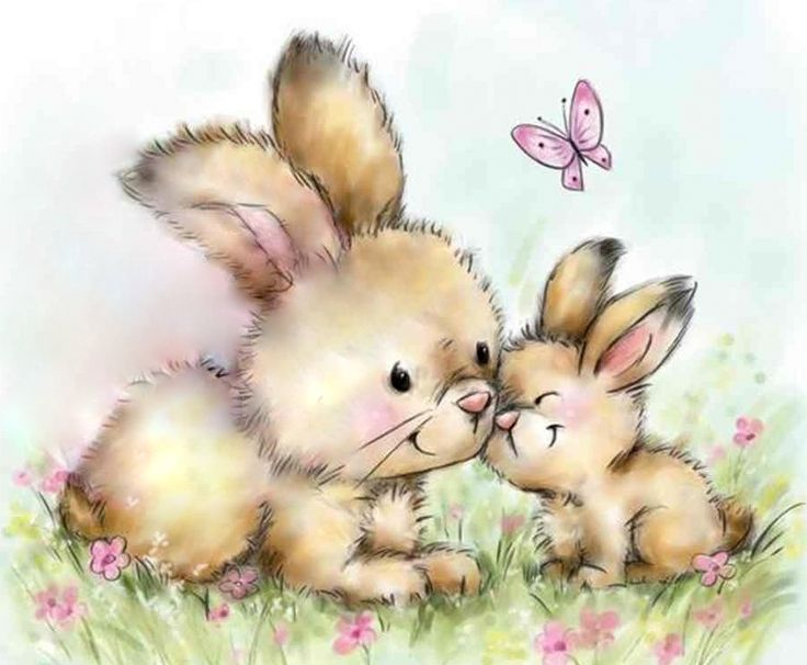 Картинки для детей зайчиков и дружбе, картинки салам алейкум