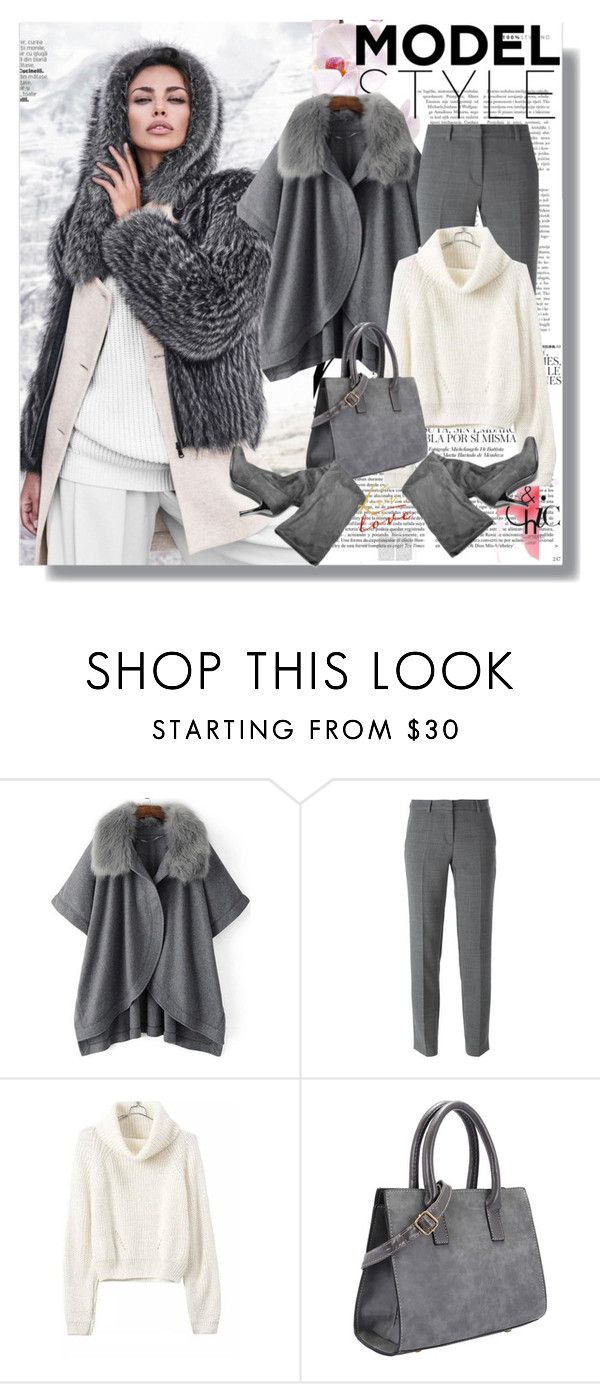 """""""Model style"""" by rosely25 ❤ liked on Polyvore featuring Whiteley, DKNY, women's clothing, women's fashion, women, female, woman, misses and juniors"""