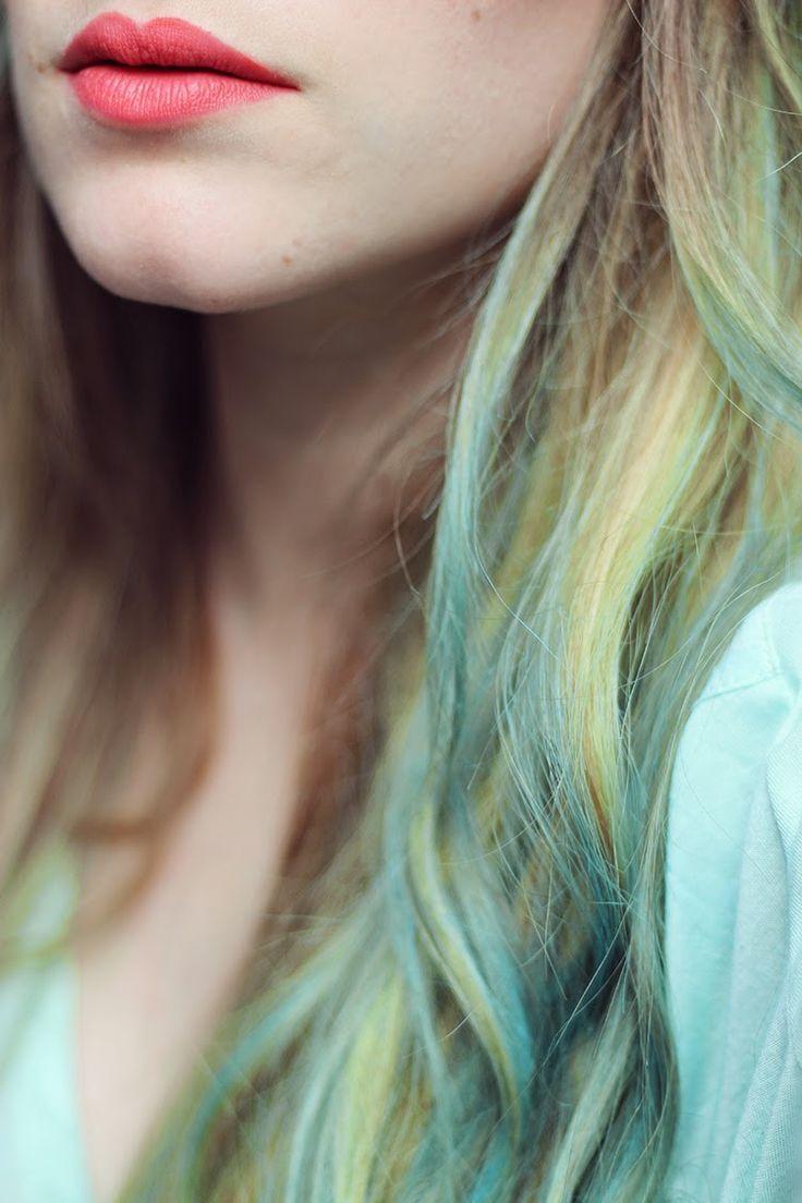Tiboudnez: ♥ Une chevelure de sirène à la craie ♥