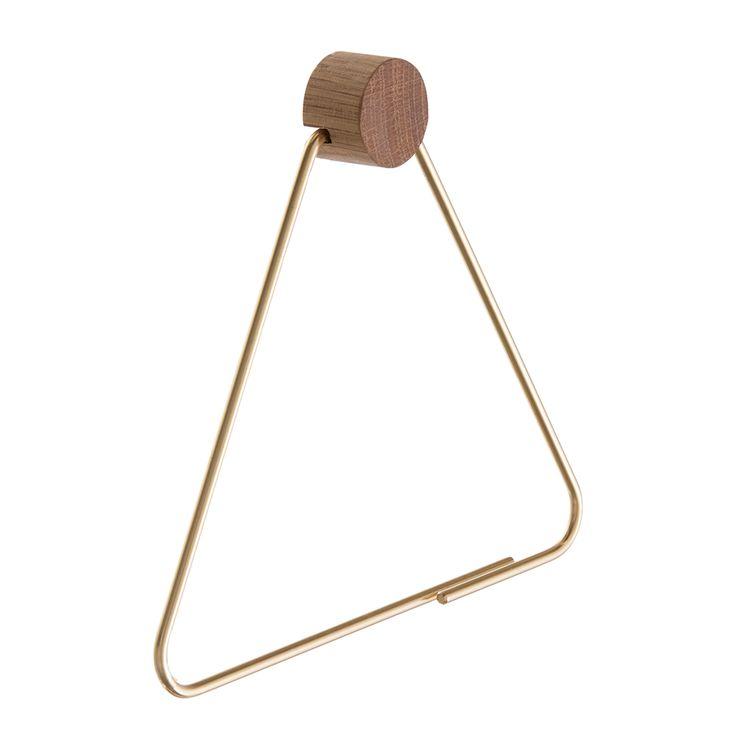 Brass Toalettrullehållare 250 kr. - RoyalDesign.se