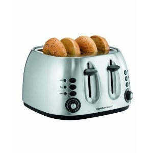 Toaster: 4Slice Stainless, 4 Slices Stainless, 4 Slices Toaster, 4Slice Toaster, Kitchens Appliances, Beaches 4 Slices, Hamilton Beaches, Toaster Kitchens, Beaches 4Slice
