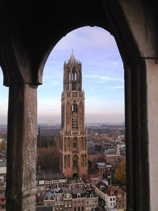 Cathedral Tower of Utrecht, Netherlands