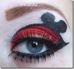 Mickey Mouse eyes- next time i go to Disneyland for sure! @Laura Jayson Boone Wells
