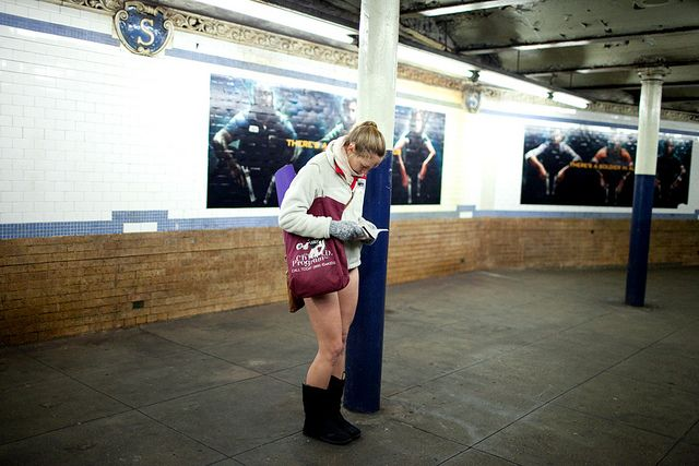 Save The Date: No Pants Subway Ride 2014