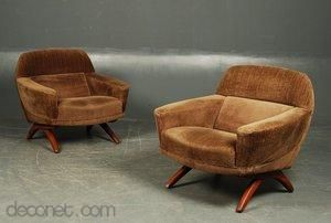 Easy chair by Illum Wikkelsø at Decopedia