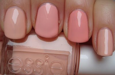 Left to right: Essie A Crewed Interest, Essie van d'Go ... A Crewed Interest Essie