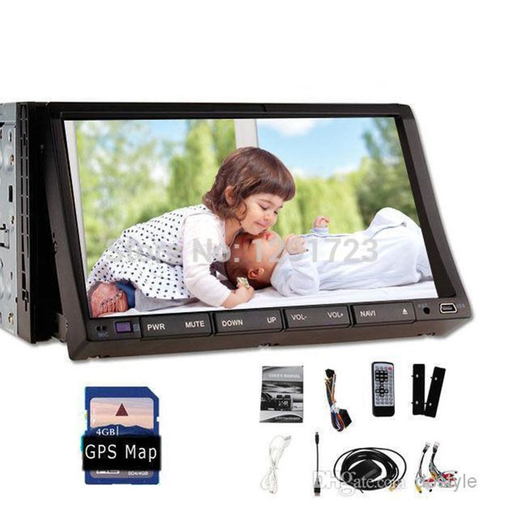Analog tv Car Radio Double 2 Din Car DVD Player GPS Navigation In dash Car PC Stereo Head Unit video+Free Map subwoofer+TV