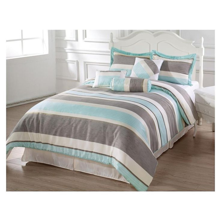 28 best light blue bedding sets images on pinterest. Black Bedroom Furniture Sets. Home Design Ideas