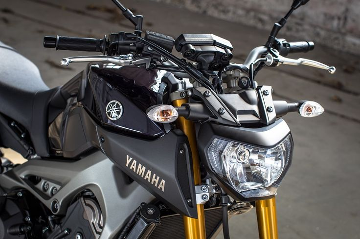 #Yamaha #MT09 international #presstest #Split