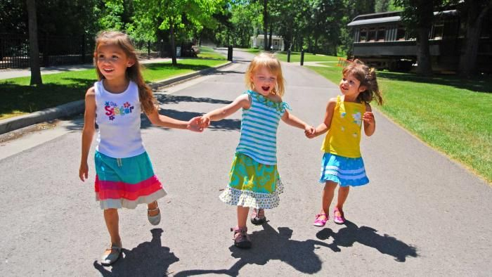 Kids at DC Booth Historic National Fish Hatchery | Spearfish, SD | Black Hills and Badlands