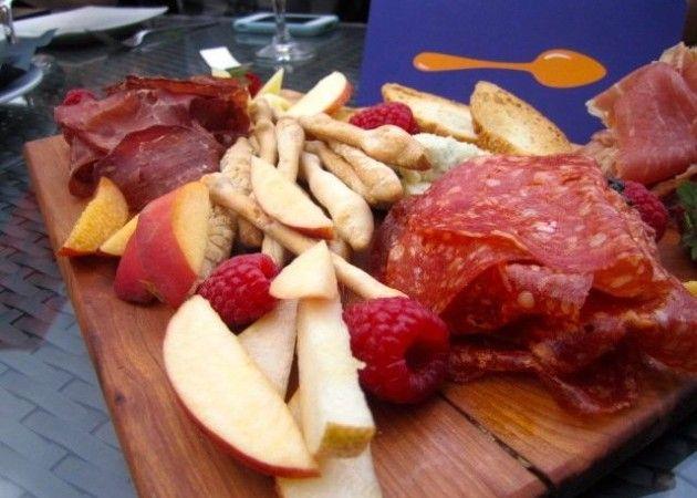 Charcuterie Board at Osteria dei Ganzi in Toronto - http://foodiesinked.com/restaurants/osteria-dei-ganzi/  #food