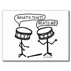 Drummer humor...