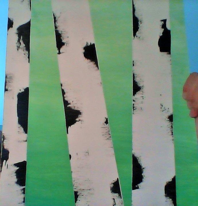 Art Camp; Birch Trees