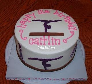 Gymnastics Girl - cake