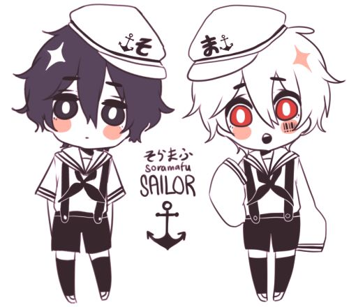Soraru as a sailor!