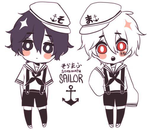 Soraru as a sailor!
