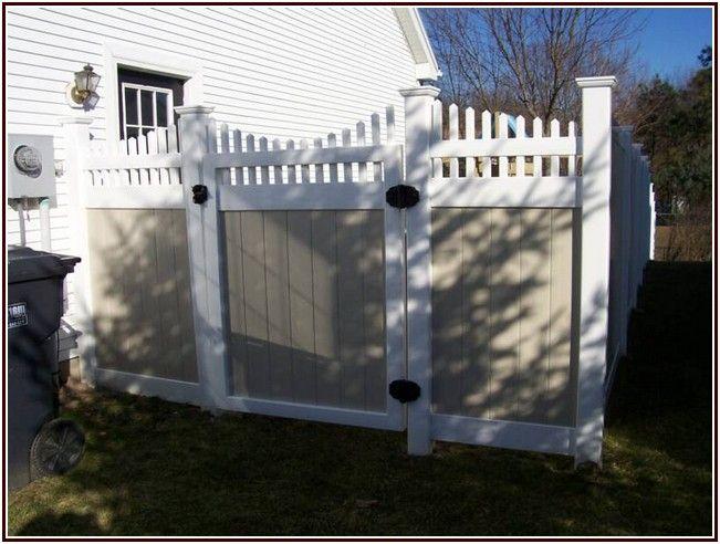 Uncanny Vinyl Fence Panels