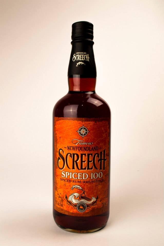 Screech rum, designed by Linea agency