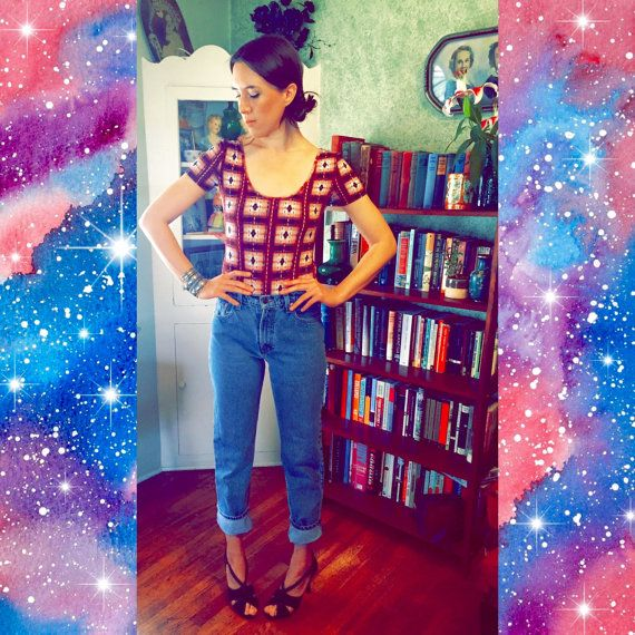 80s 90s Vintage High Waisted Jeans / JORDACHE by BoonSnagVintage