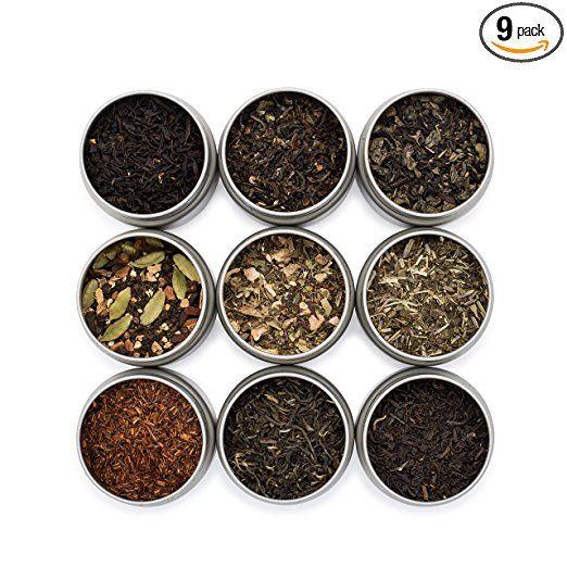 Golden Moon Tea Loose Leaf Tea Sampler 9 Variety Pack