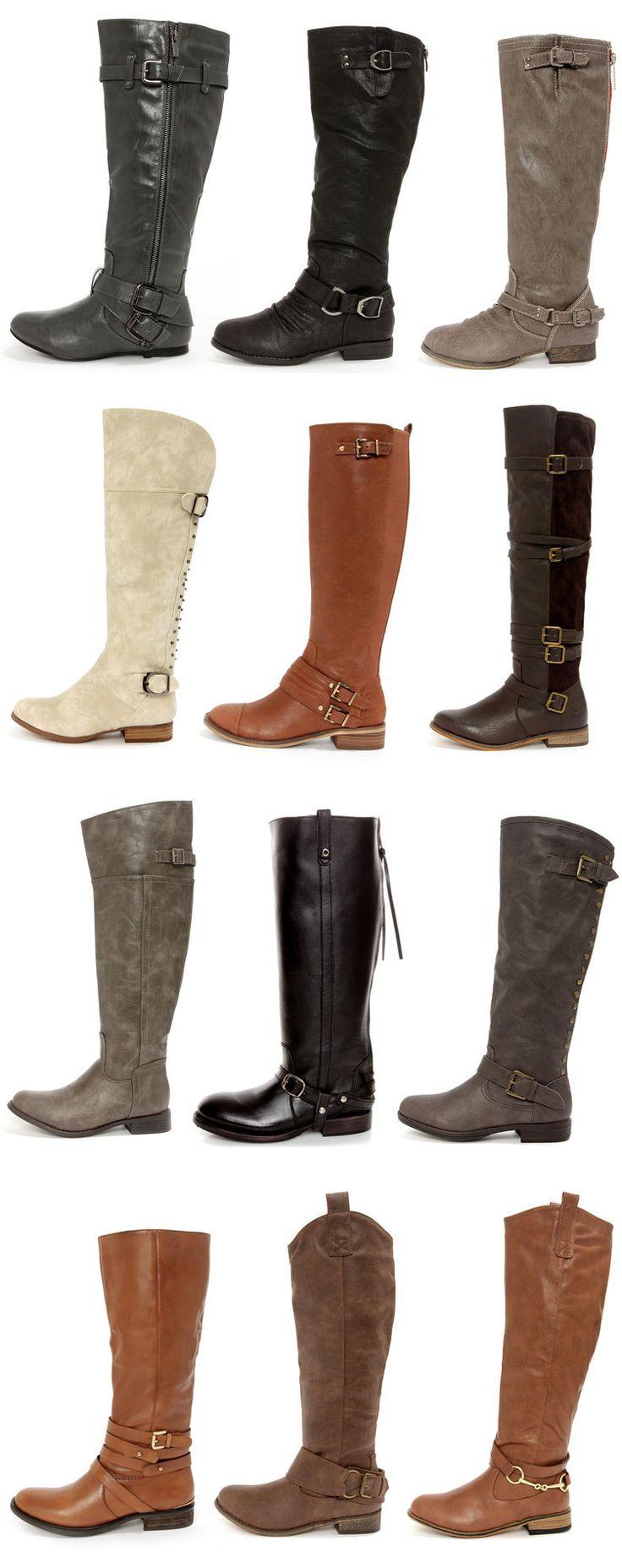 Fall Riding Boots via lulus.com