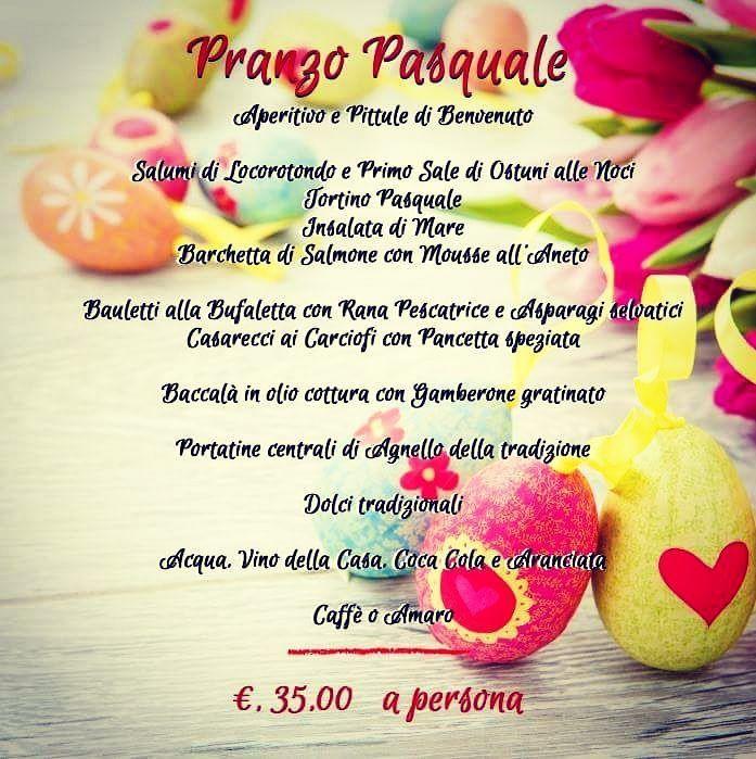 La nostra proposta per il Pranzo di #pasqua  #tradizione #lamantagnata #ristorantilecce  #igerssalento #salentoesoncontento #salentofood #mare #melendugno #Salento #lecce