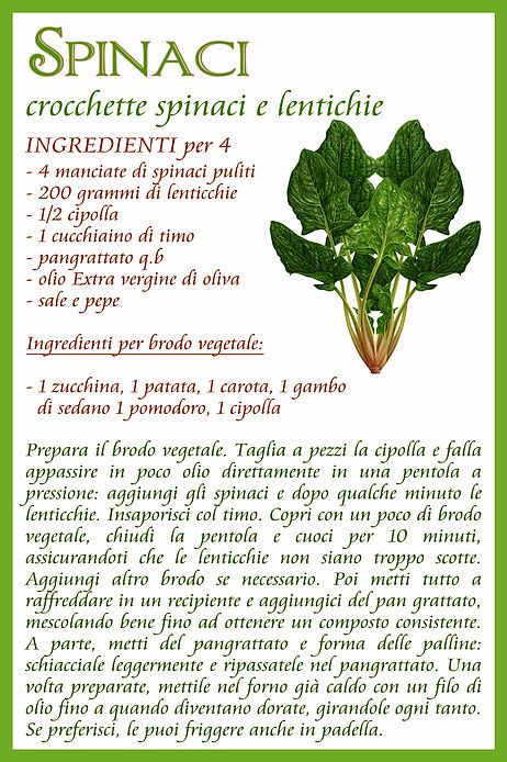Spinaci: