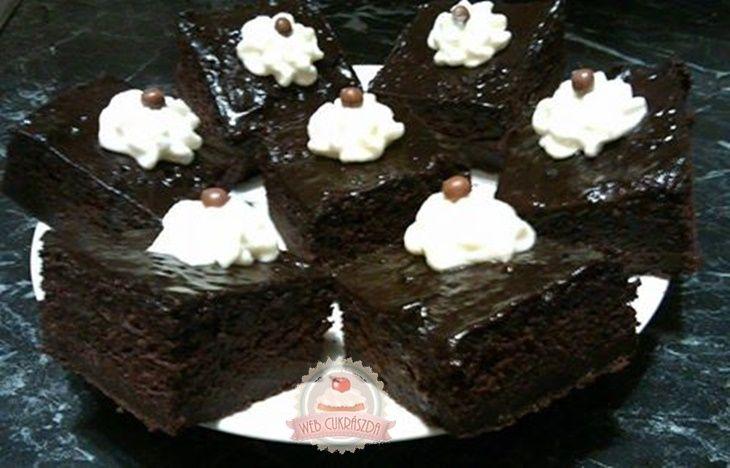 Amerikai csokis brownie