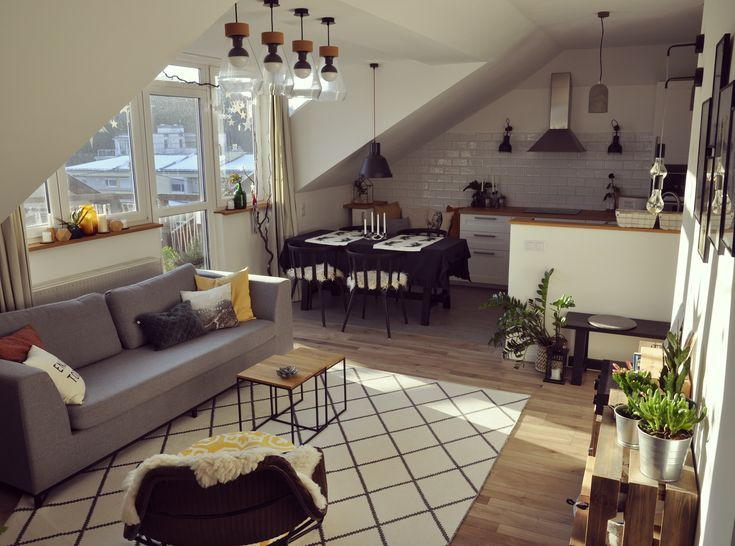 scandinavian living room