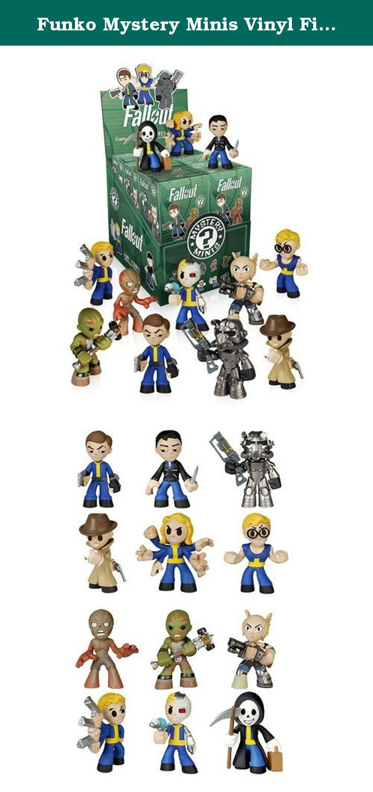 Funko Mystery Minis Vinyl Figures - Fallout - Blind Packs (5 Pack Lot). Pack of 5 blind box mystery mini figures from the hit game Fallout. Each figure measures approximately 2 1/2 inches. Selection is random, possibility of duplicates, can not take specific figure requests.
