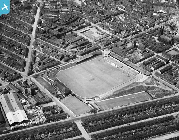 Bramall Lane Football Ground, Sheffield, 1933