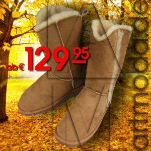 Ein #Dauerbrenner - AM artmoda #Lammfellstiefel - #warm, fein und kuschelig!