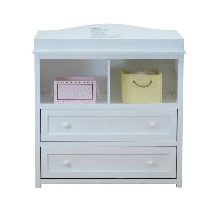 Clarissa 2 Drawer Changing Dresser