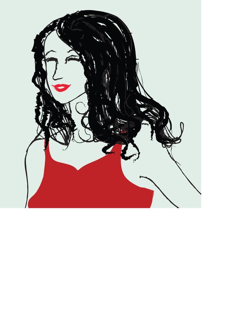 'YOU 화법으로 시작하라' 본문에 삽입된 삽화(여주인공 유니스)